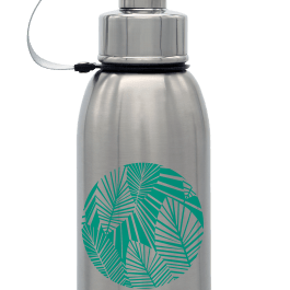 Gaspajoe Friendly gourde isotherme inox 700ml avec filtre Jungle