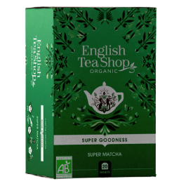 20 sachets thé super goodness super matcha – English Tea Shop