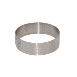 Cercle perforé inox DIAM:7,5cm H:2cm – De Buyer
