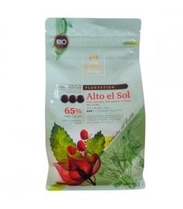 Chocolat Alto El Sol noir 65% bio 1kg – Barry