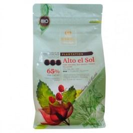 Chocolat noir 65% Alto El Sol bio Barry 1kg