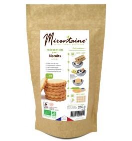 Préparation BIO biscuits natures – Mirontaine