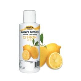Arôme concentré Citron 125ml – Mallard Ferriere