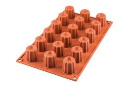 Moule silicone 18 mini-cannelés spécial édition SF 033 Ø 35 H 35 MM – Silikomart