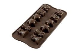 Moule silicone chocolat Christmas – Silikomart