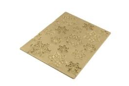 Tapis silicone bûche décor frozen flocons 250×185 H 6 MM – Silikomart