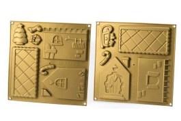Kit silicone maison pain d'épices ou biscuits 2 plaques – Silikomart