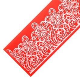 Moule silicone dentelle fleurie – Modecor