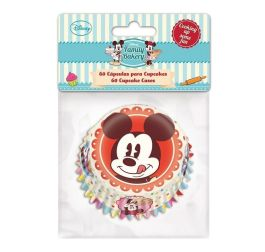 Caissettes à cupcakes Mickey – 60pcs – Stor Baking