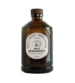 Sirop bergamote bio bouteille verre 40cl – Bacanha