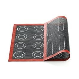 Tapis en silicone micro-perforé air mat éclair et choux 40 x 30 – Silikomart