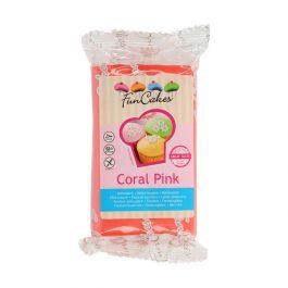 Pâte à sucre – Coral Pink – 250gr – Fun Cakes