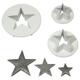Emporte pièce étoiles x3 – PME