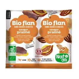 Bioflan non sucré praliné – Nature & Aliments