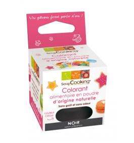 Colorant alimentaire en poudre d'origine naturelle Noir – ScrapCooking