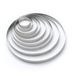 Cercle perforé inox DIAM:10,5cm H:2cm – De Buyer