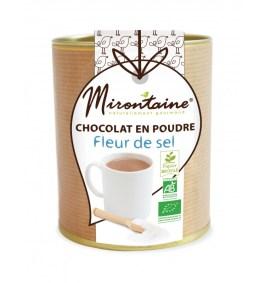 Chocolat en poudre Fleur de sel Bio 200gr – Mirontaine