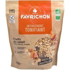 Muesli croustillant Fruits du soleil 450 gr – Favrichon