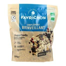Muesli superfruits  500g – Favrichon