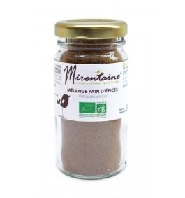 Mélange pain d'épices BIO 30gr – Mirontaine