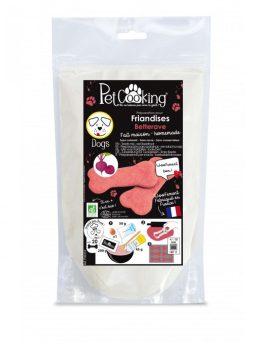 Preparation pour friandises biscuits bio betterave chient – PetCooking
