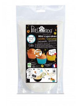 Preparation pour mini cupcakes bio carotte curcuma chat – PetCooking