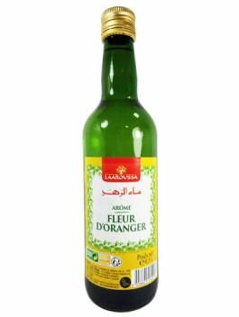 Arôme fleur d'oranger 0.5l bouteille verre – Laaroussa