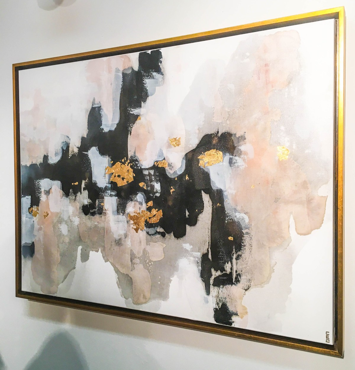 Painting entitled Closing In by artist Christine Olmstead