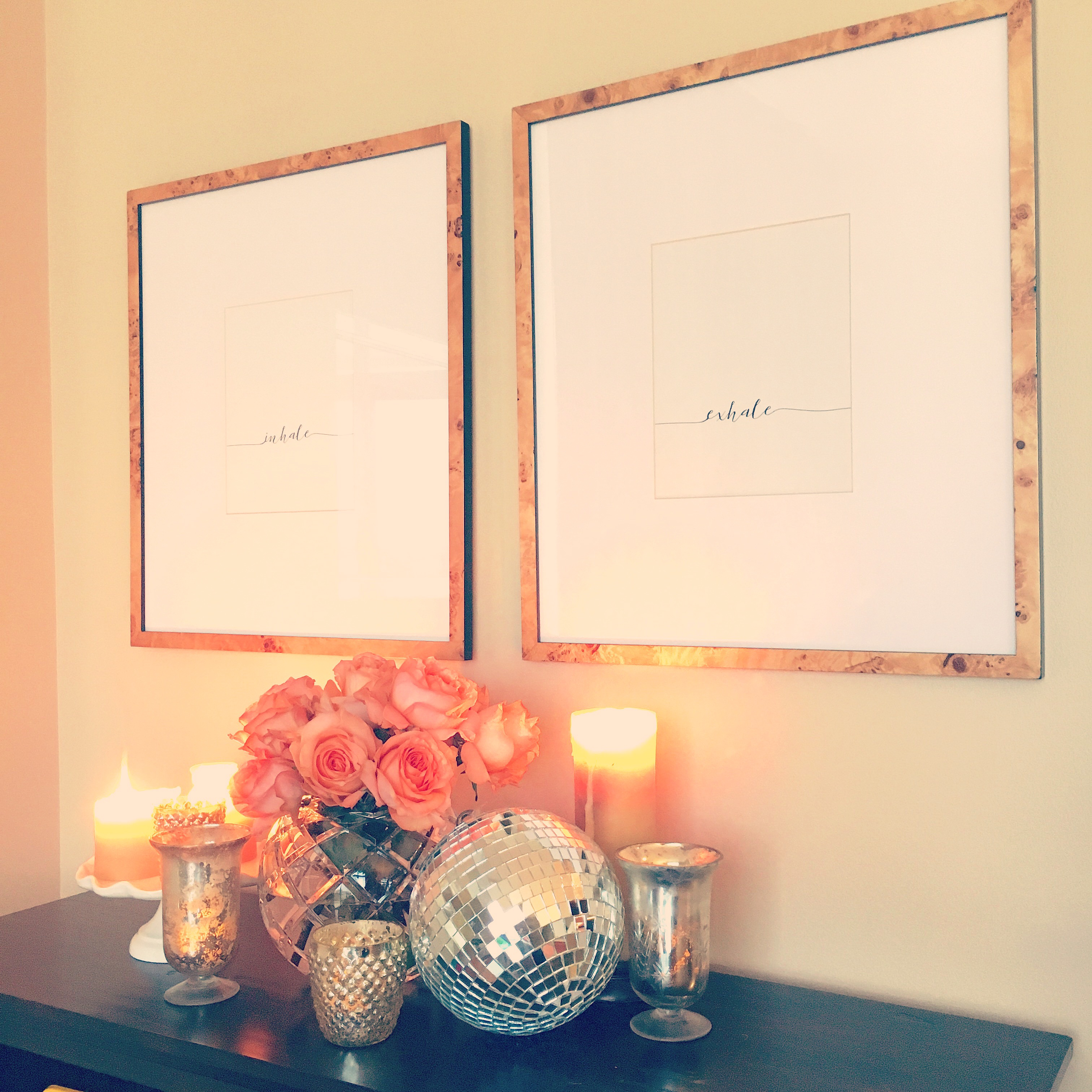 If Your Walls Could Talk (This is What They'd Say): Adding a Statement with Typography Art Prints