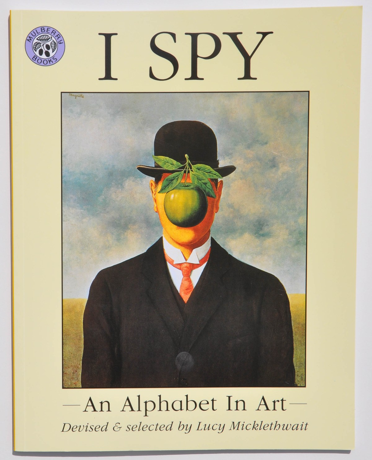 children's art book that reviews the alphabet and great works of art from throughout history