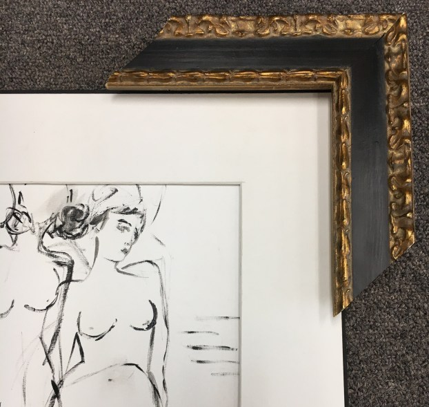Black & White Nude Women Frame Option