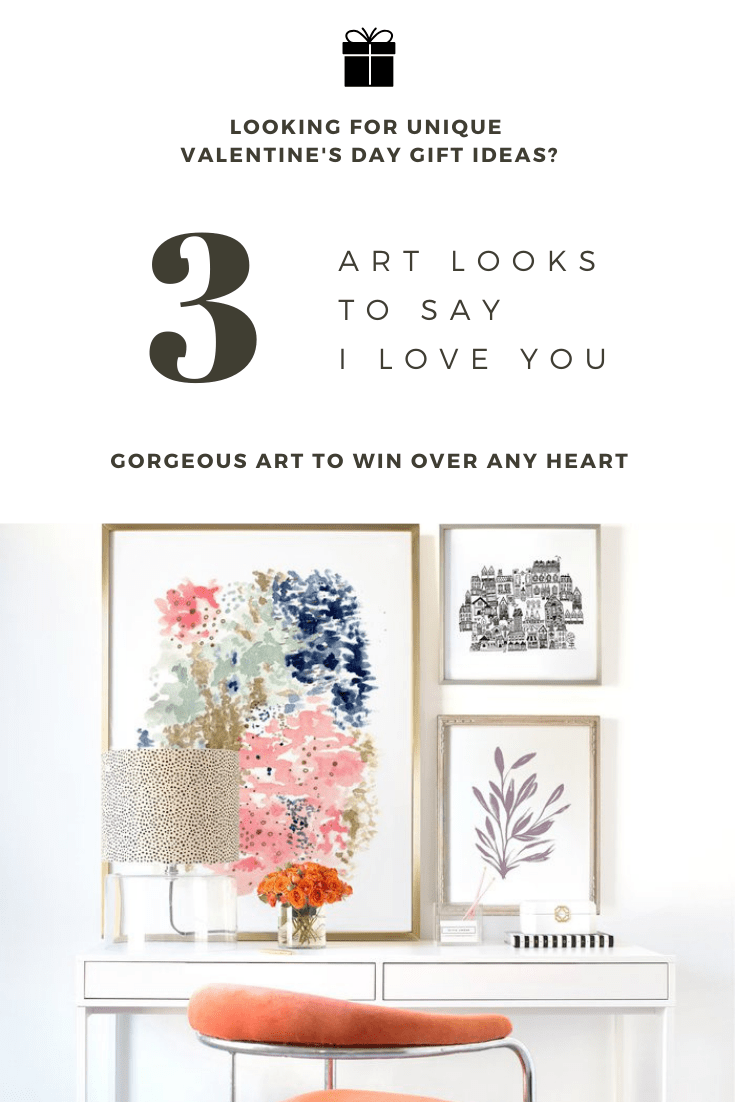 3 Gorgeous Art Looks to Say I Love You this Valentine's Day
