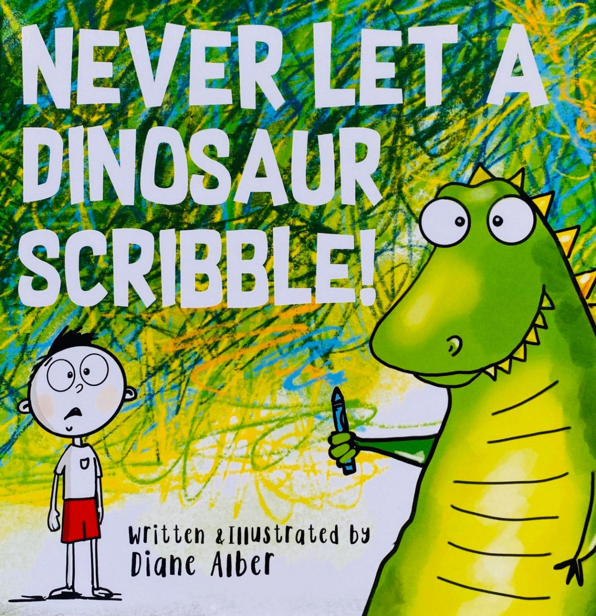 children's art book about using your imagination when creating art