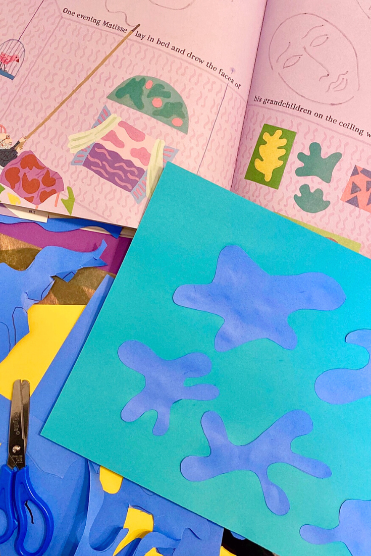 Matisse Paper Cut-Outs: Easy Art Project for Kids
