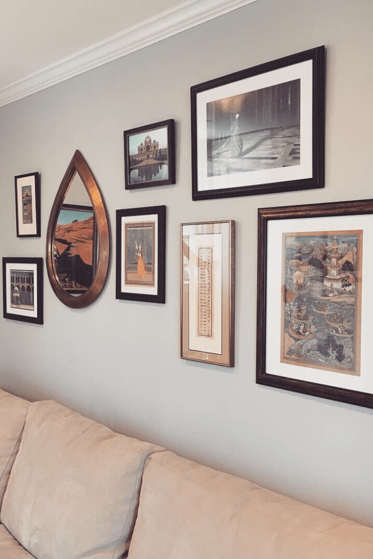 Client Project: How Hanging Artwork Makes a House Feel Like a Home