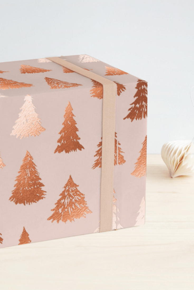 A Round Up of My Favorite Holiday Wrapping Paper Designed by Minted Artists