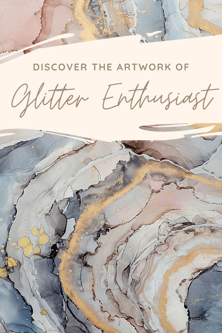 Glitter Enthusiast Artist Channels Her IVF Journey Into the Creation of Stunning + Meaningful Paintings