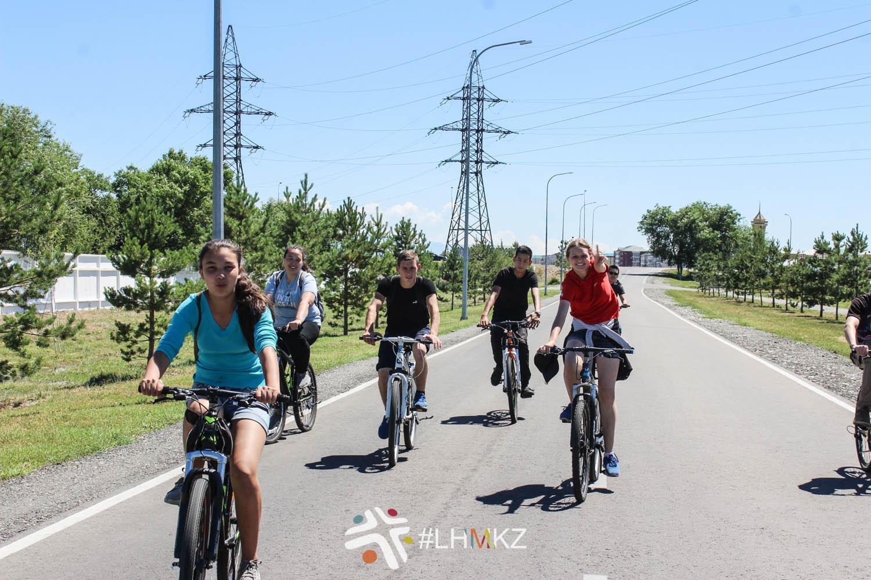 Молодёжный велопробег, г. Талдыкорган