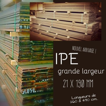 Nouvel arrivage IPE…