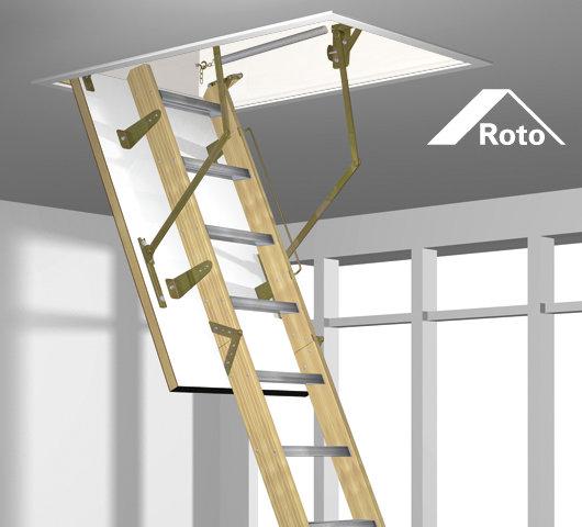 Escalier escamotable Roto