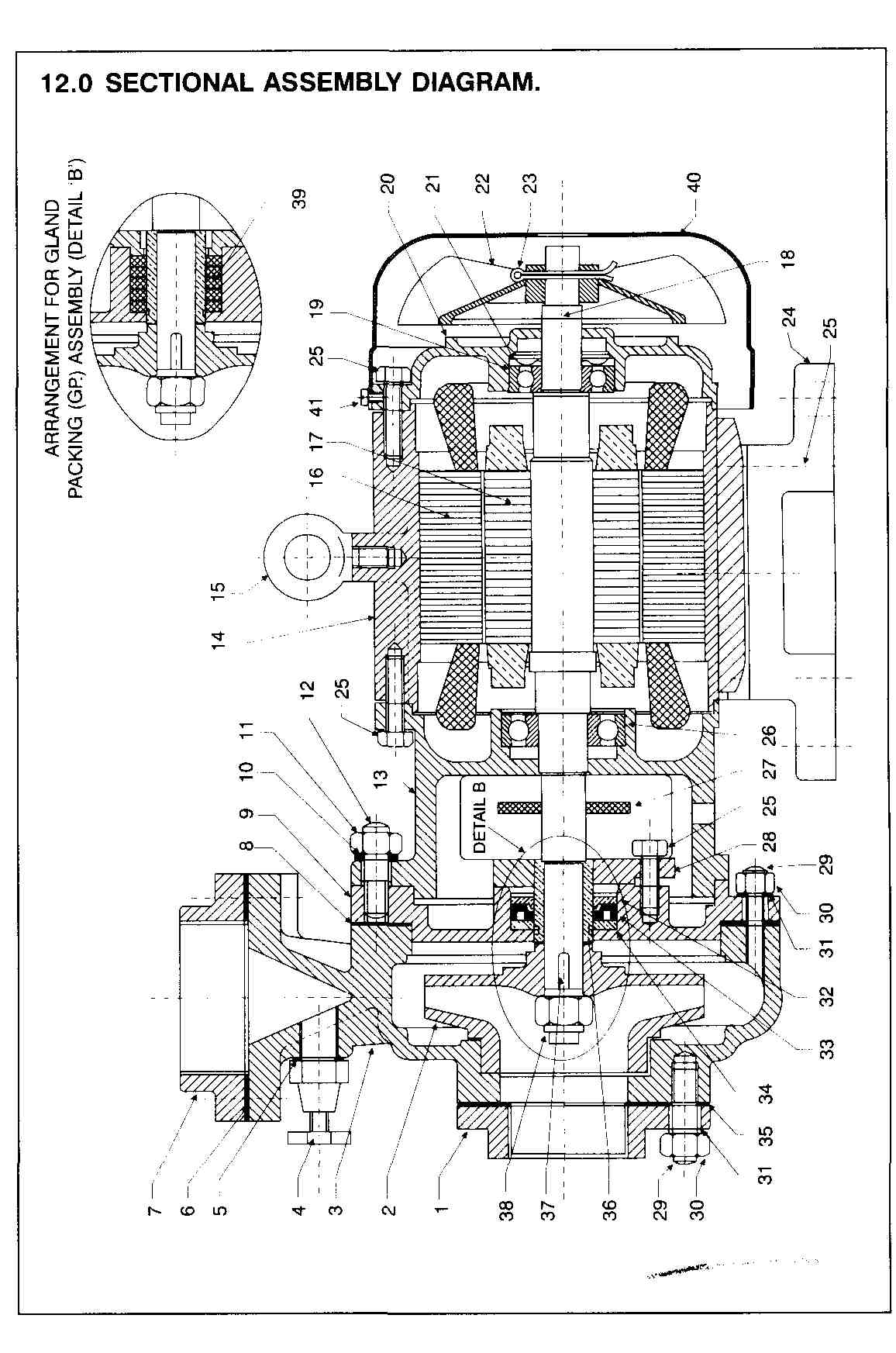 General Assembly Drawing And Spares List
