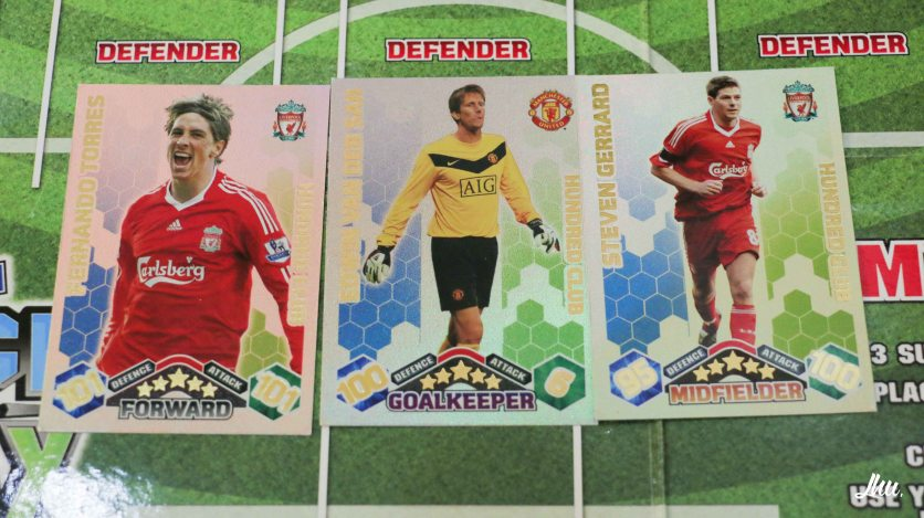 Three of the most wanted cards in the world at that time.