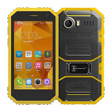"Kenxinda PROOFINGS W6 4.5 "" Android 5.1 4G Smartphone (Dual SIM Quad Core 5 MP 1GB + 8 GB Grey / Yellow)"