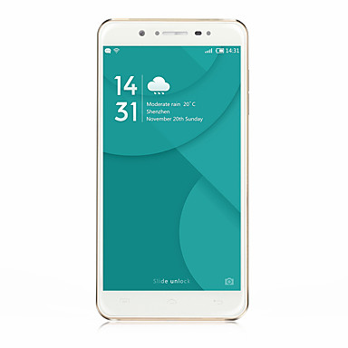 DOOGEE F7 5.5 Android 6.0 4G Smartphone (Dual SIM Deca Core 16MP 3GB 32 GB Black / White)