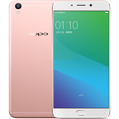 "OPPO R9 Plus 6.0 "" Android 5.1 4G Smartphone (Dual SIM Octa Core 16MP 4GB + 64 GB Rosy Gold)"