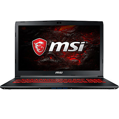 MSI laptop notebook GL62VR 7RFX-848CN 15.6 inch LED Intel i7 Intel i7-7700HQ 8GB DDR4 128GB SSD 1TB GTX1060 6GB Windows10