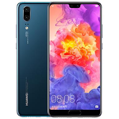 "Huawei P20 China Version 5.8inch "" 4G Smartphone ( 6GB + 64GB 20mp 12mp Hisilicon Kirin 970 3400mAh )"