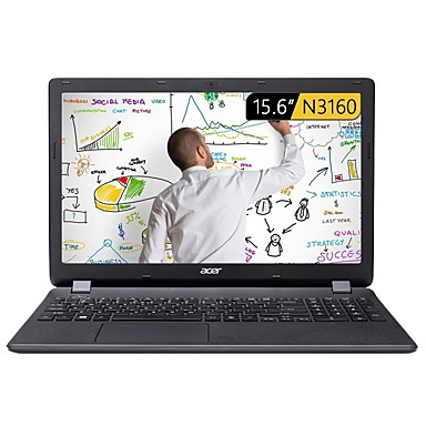 ACER laptop 15.6 inch Intel Atom Quad Core 4GB RAM 500GB hard disk Windows 10 Intel HD