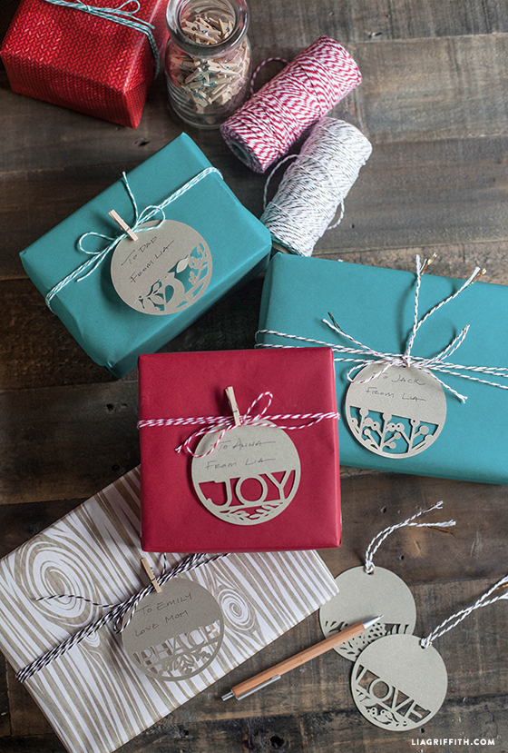 Download christmas holiday gift tags vector art. Paper Cut Holiday Gift Tags Lia Griffith
