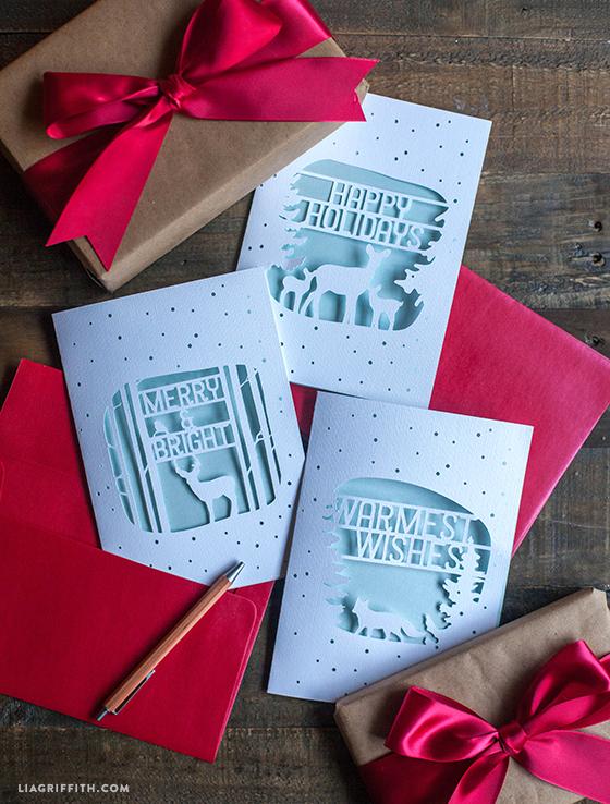 378 Christmas Card Svg Files For Cricut
